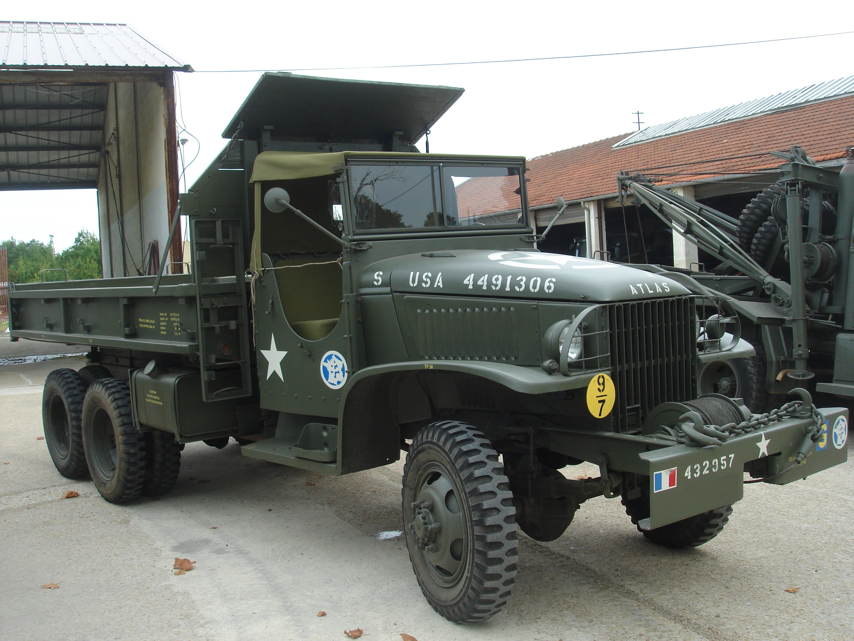 Gmc cckw 353 benne atlas - Camion benne americain ...
